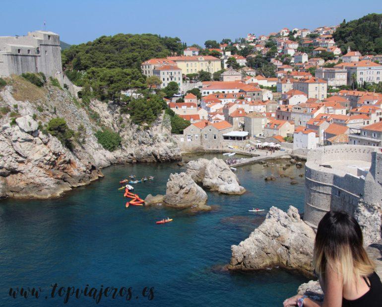 Vistas a Dubrovnik desde la muralla (Desembarco del Rey)