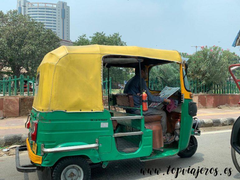 transporte India Tuc Tuc