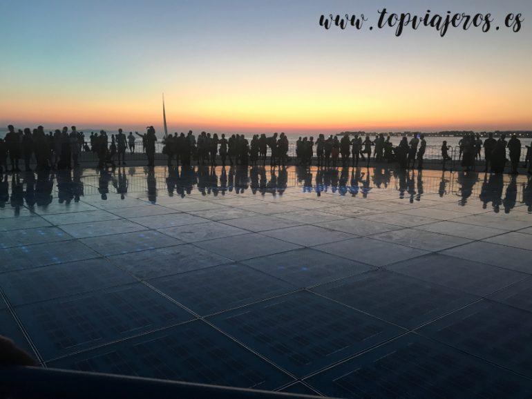 Saludo al sol Zadar