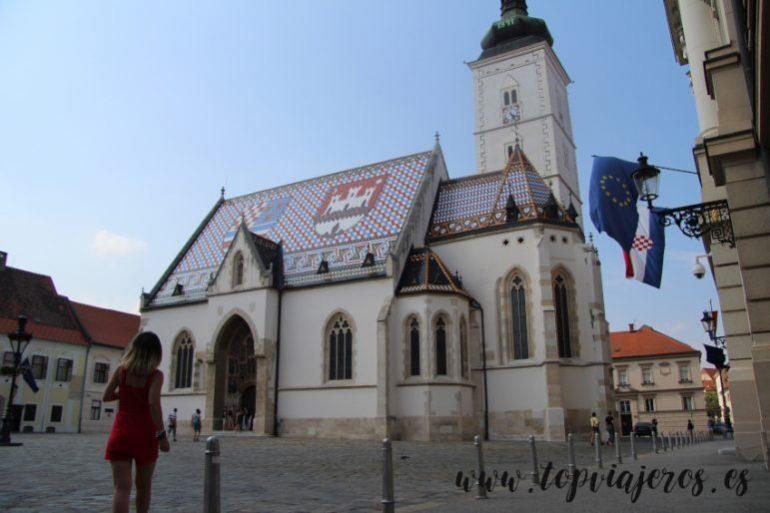 Iglesia Croata de San Marcos (St Mark's Church) Zagreb