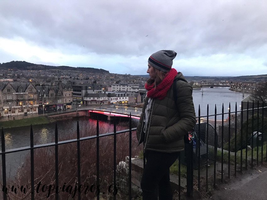 Vistas desde el castillo de Inverness