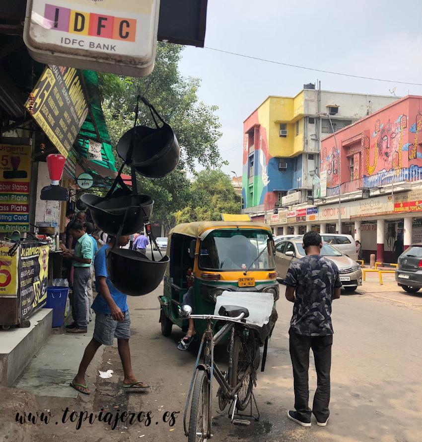 Calle Delhi India