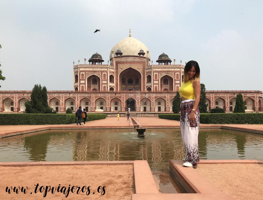 Tumba de Humayun Delhi - Humayum's Tomb Delhi