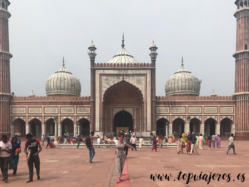 Jama Masjid Delhi -  Mezquita de Delhi