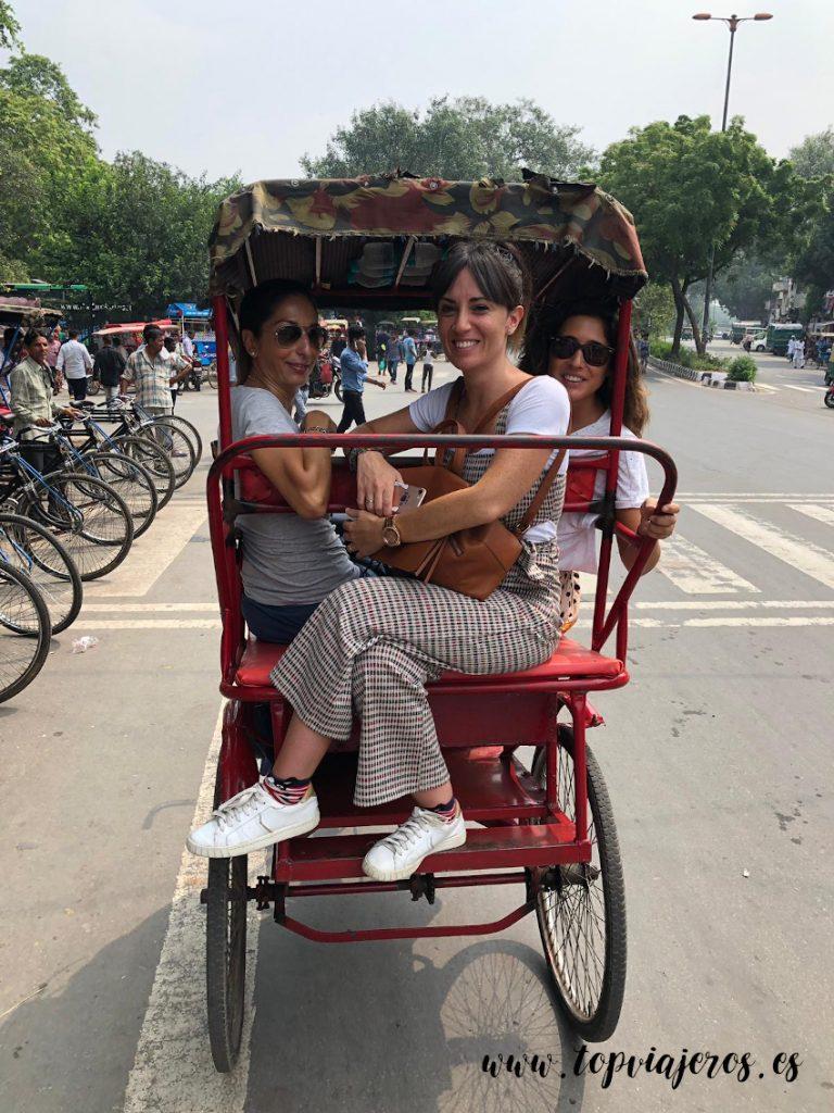 Moverse por Chandni Chowk