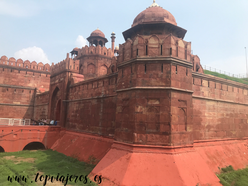 Lāl Qila - Fuerte rojo de Delhi