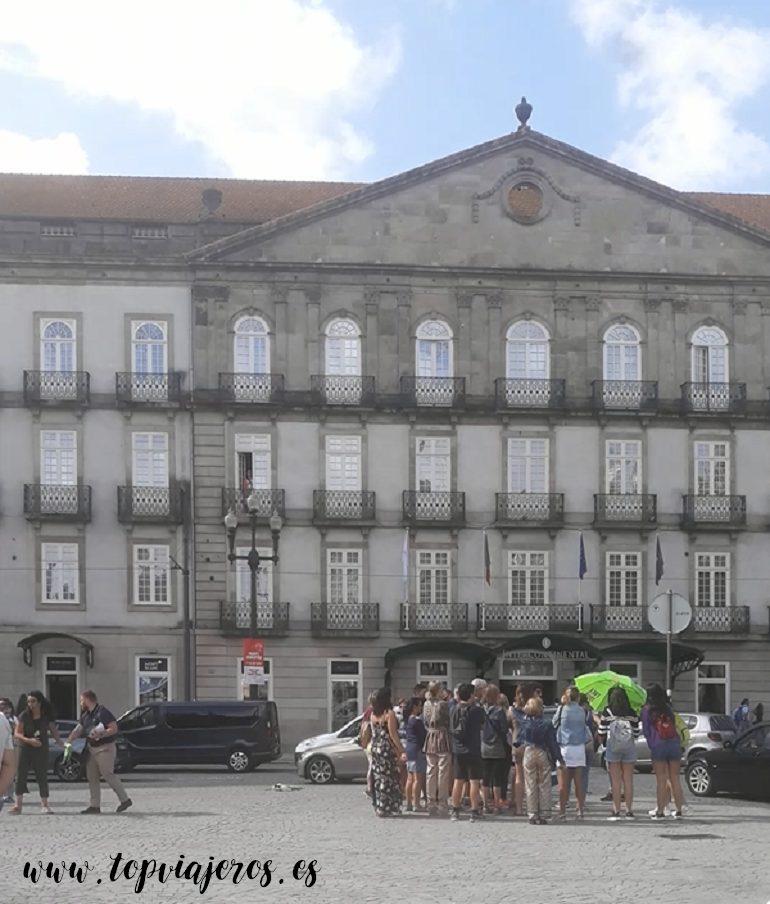 Free Tour en plaza de la libertad Oporto