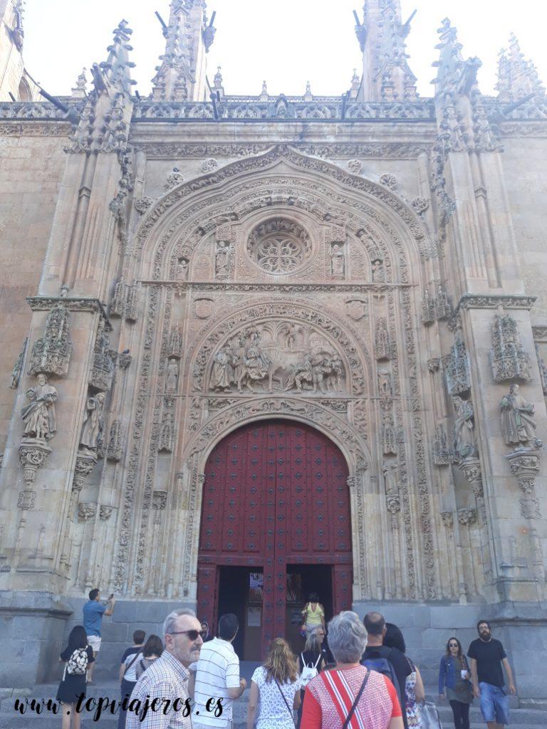 Puerta de Ramos - Catedral nueva de Salamanca