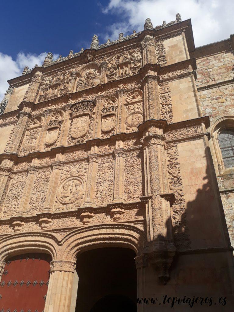 Puerta principal universidad de Salamanca