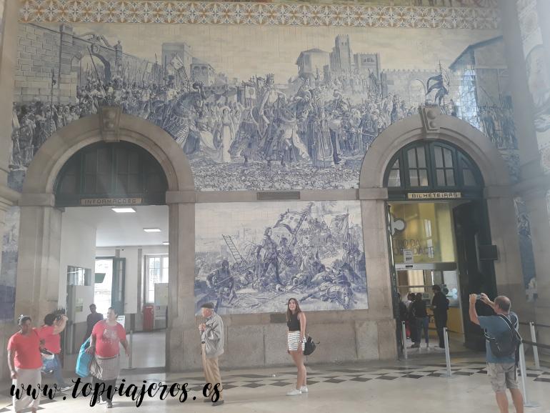 Estación de São Bento Oporto