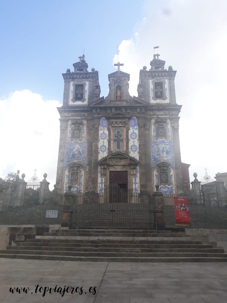 Iglesia de San Idelfonso Oporto