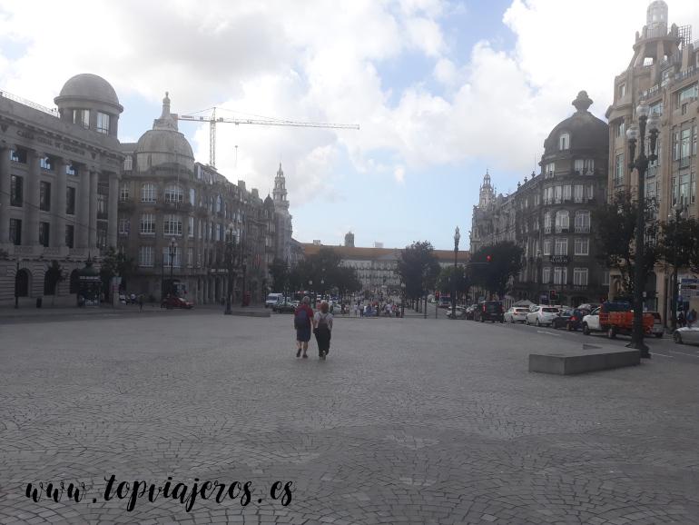 Avenida de los Aliados Oporto