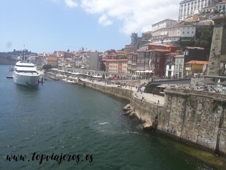 Oporto desde el Puente Don Luis I