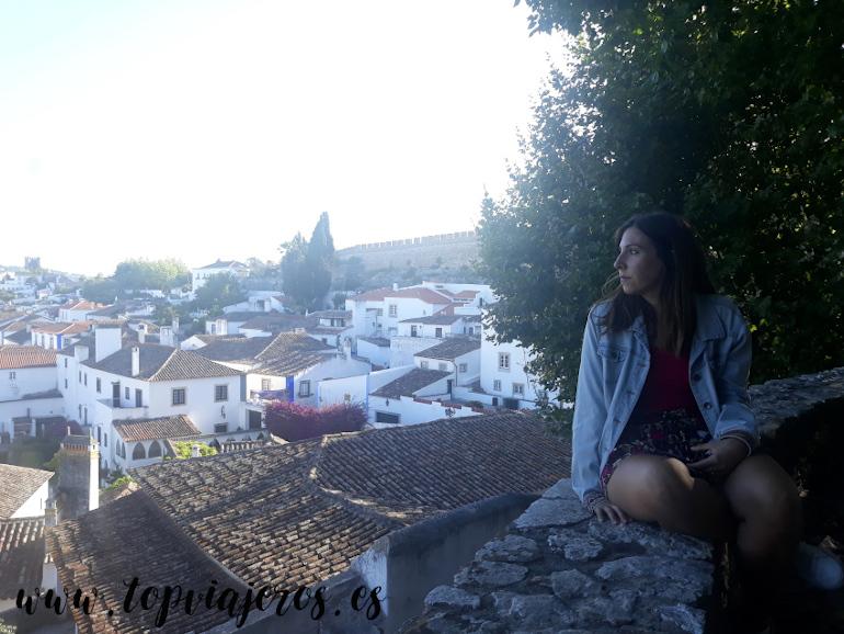 Vistas desde el Castillo de Óbidos