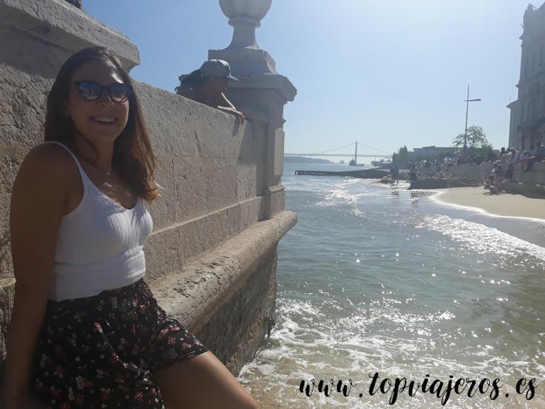 Plaza del comercio Lisboa (Portugal)