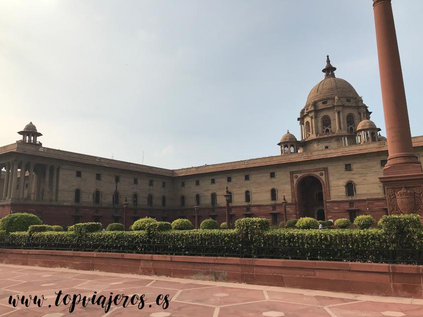 El Parlamento Nueva Delhi