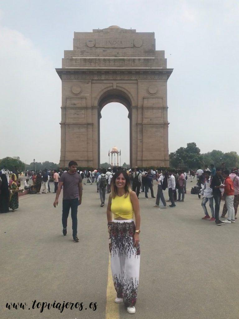 India Gate - Puerta de la india (Delhi)