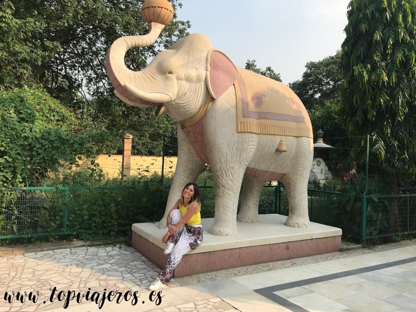 Estatua elefante Templo Laxmi Narayan - Birla Mandir (Delhi)