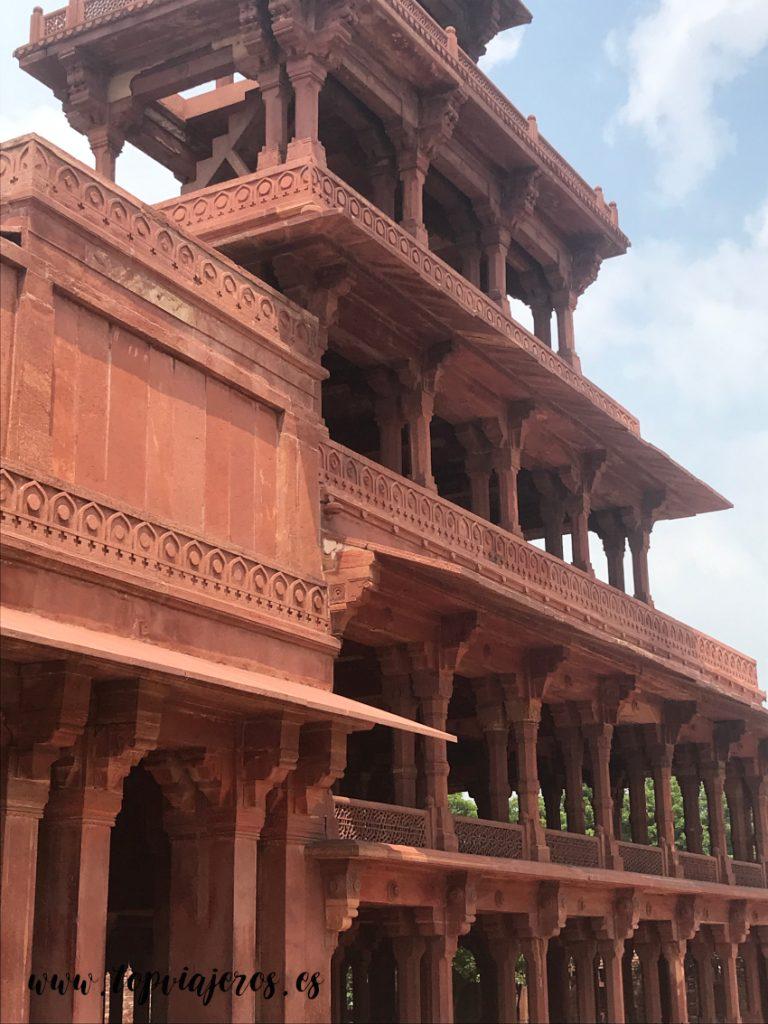 Palacio Panch Mahal Fatehpur Sikri (India)