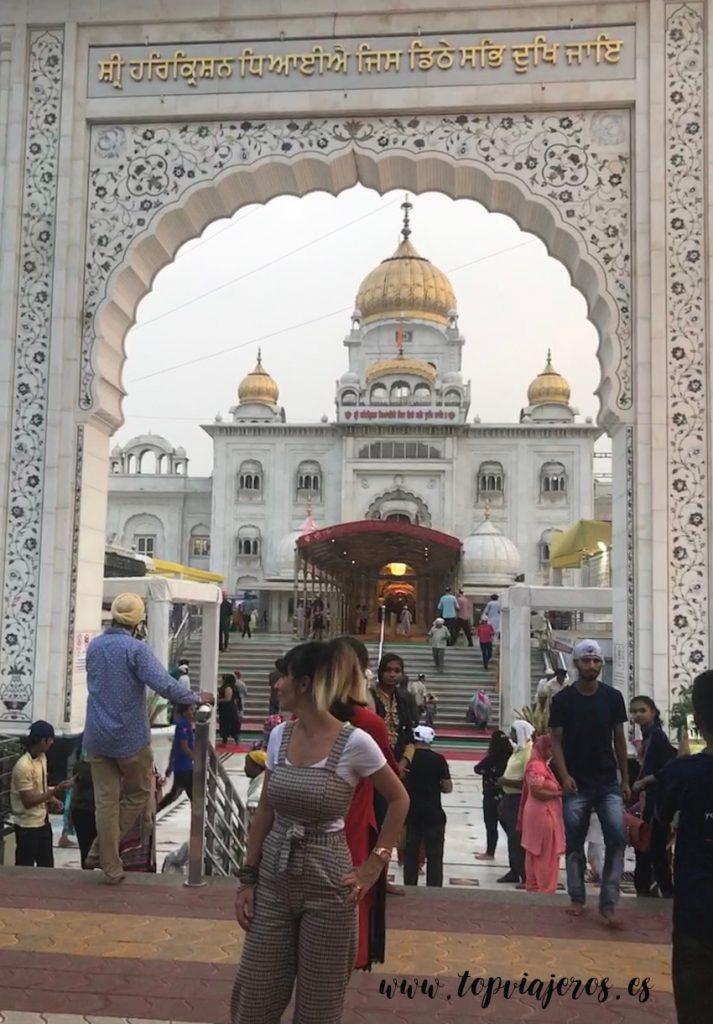 Templo Sij Gurudwara Bangla Sahib Delhi