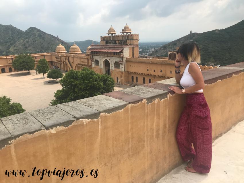 Fuerte de Amber Jaipur (India)
