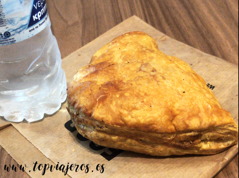 Cheese Pie comida típica griega