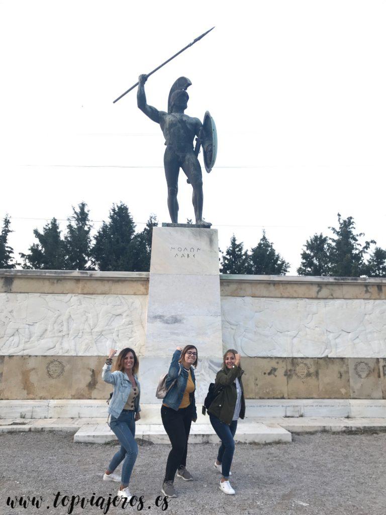 Monumento Leónidas Termópilas