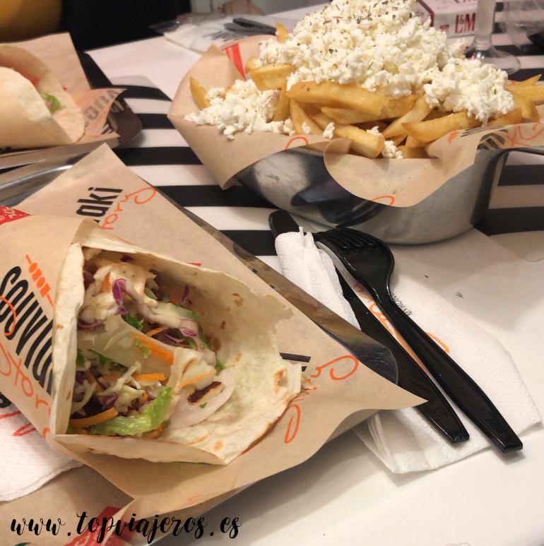 Restaurante  Souvlaki Story Mykonos