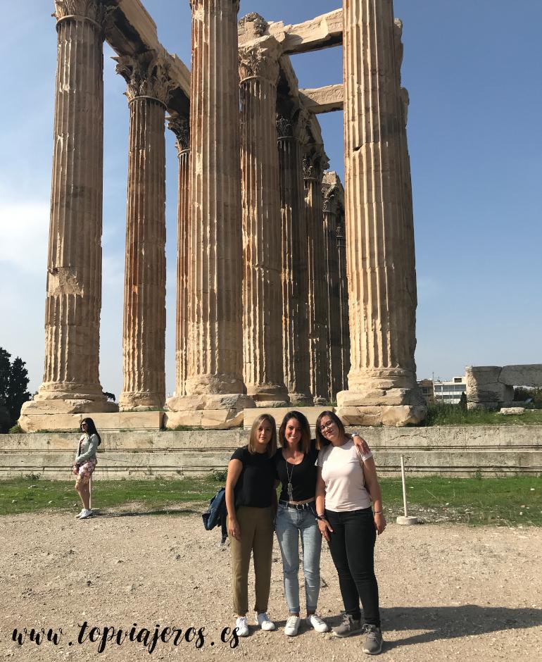Templo Olímpico de Zeus Atenas