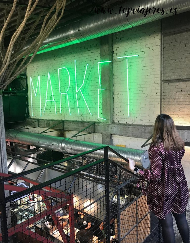 Mercado de San Ildefonso Madrid