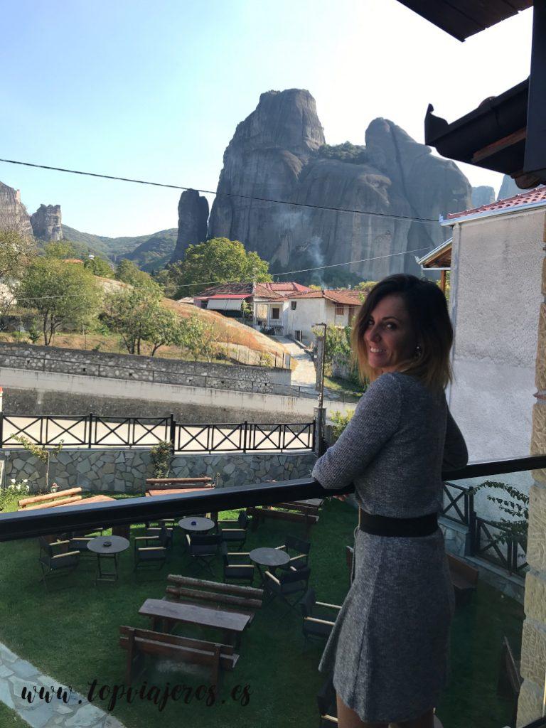 Vistas a Meteora desde  hotel Tsikeli Meteora