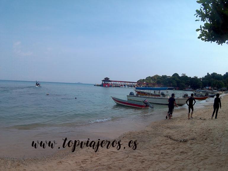 Playa de Coral Bay Islas Perhentian