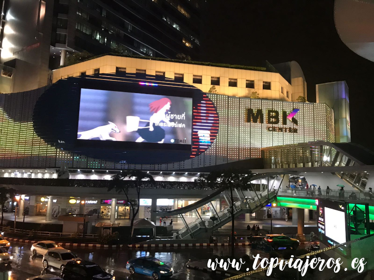Centro comercial MBK Bangkok (Tailandia)