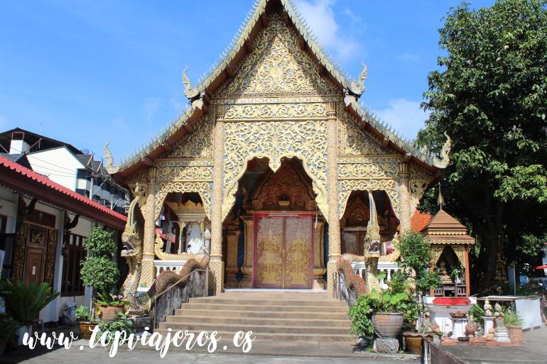 Wat Chiang Man Chiang Mai (Tailandia)