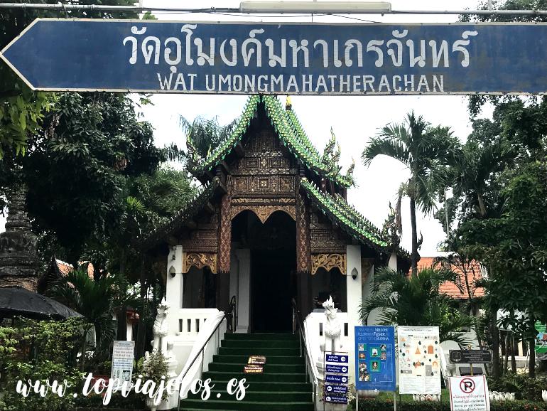 Wat Umongmahatherachan Chiang Mai (Tailandia)