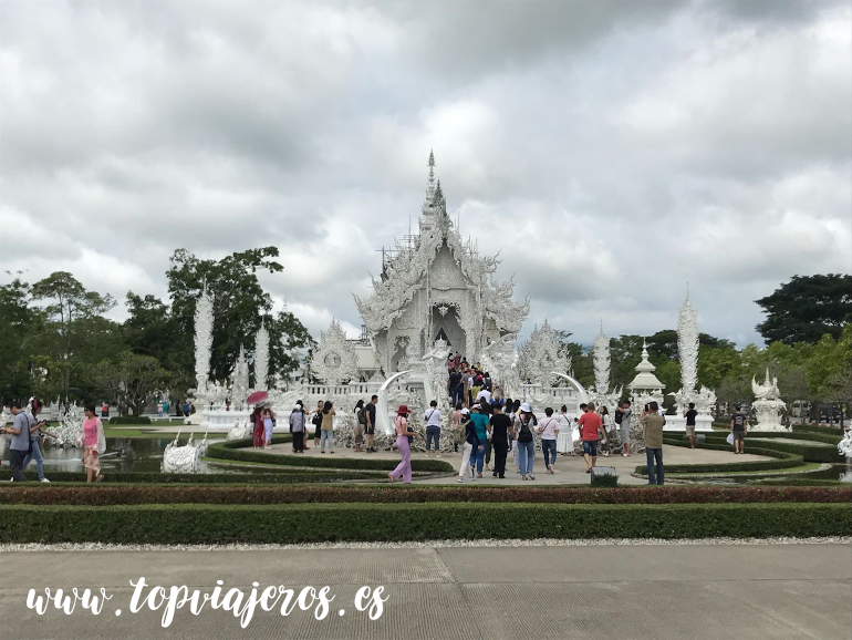 Templo blanco Chiang Rai (Wat Rong Khun Chiang Rai)