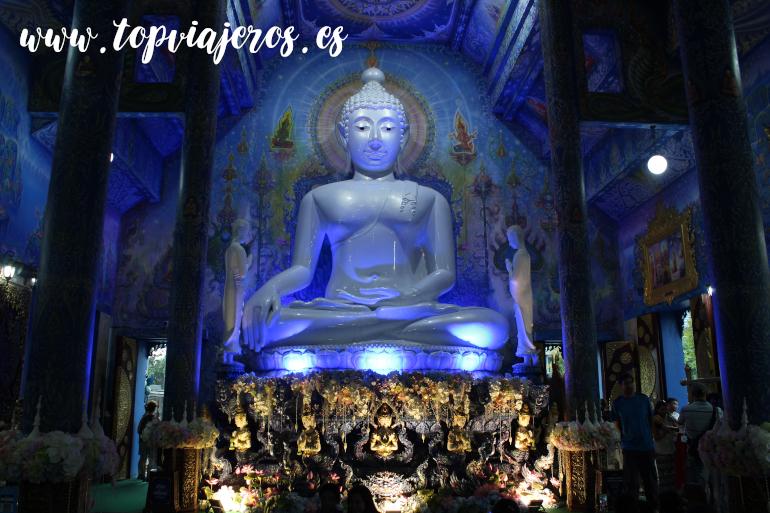 Templo Azul Chiang Rai (Wat Rong Suea Ten Chiang Rai)