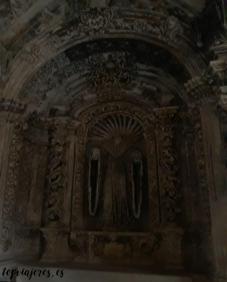 Altar barroco del siglo XVIII