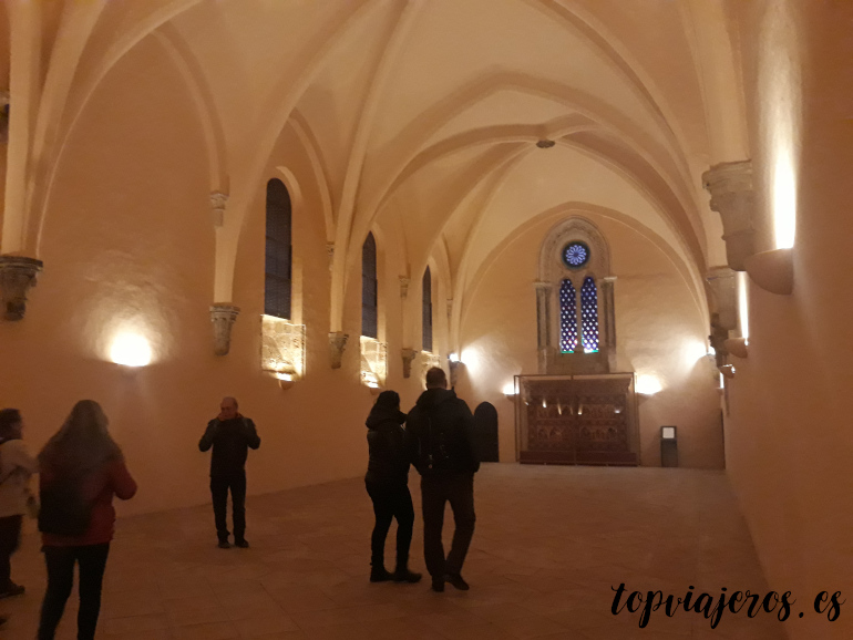 Reflectorio Monasterio de Piedra