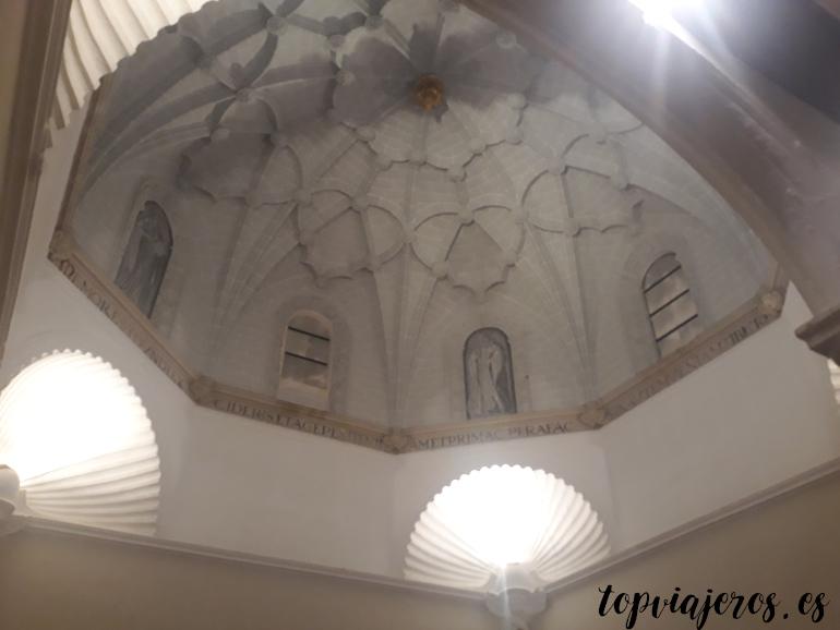 Antigua biblioteca Monasterio de Piedra