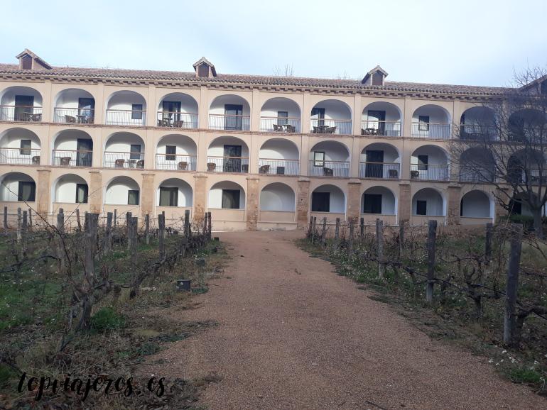 Monasterio de piedra - Vistas terraza hotel