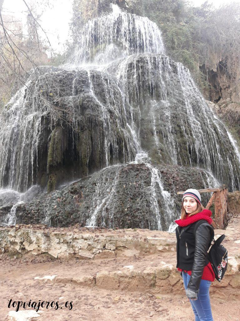 Cascada Trinidad - Monasterio de piedra (Zaragoza)