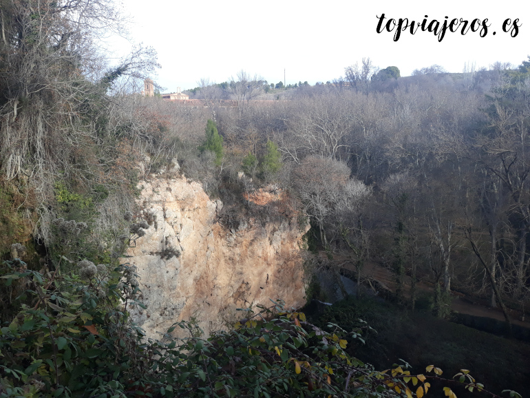 Mirador de la Caprichosa - Monasterio de Piedra (Zaragoza)