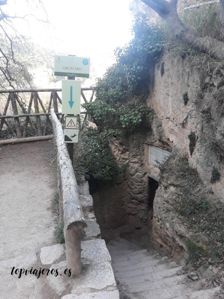 Gruta Iris - Monasterio de Piedra (Zaragoza)