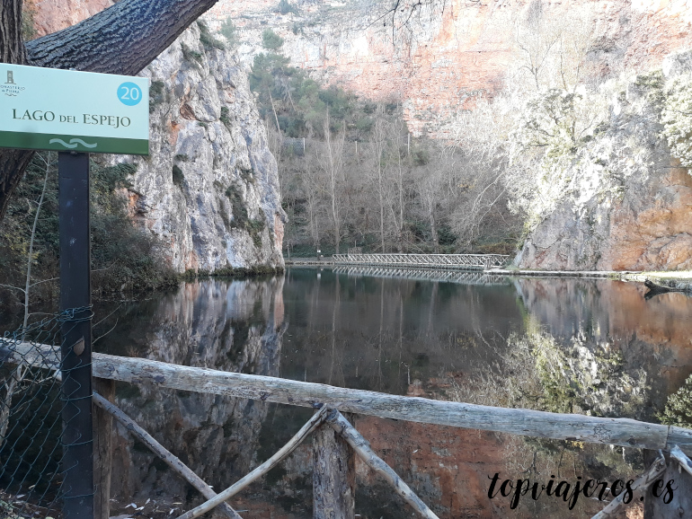 Lago del Espejo - Monasterio de Piedra (Zaragoza)