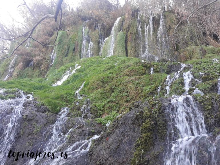 Cascada de los Chorreaderos - Monasterio de Piedra (Zaragoza)