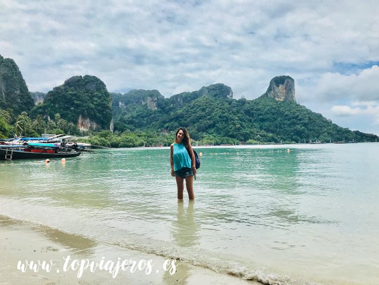 Railay Beach Krabi (tour 4 islands)