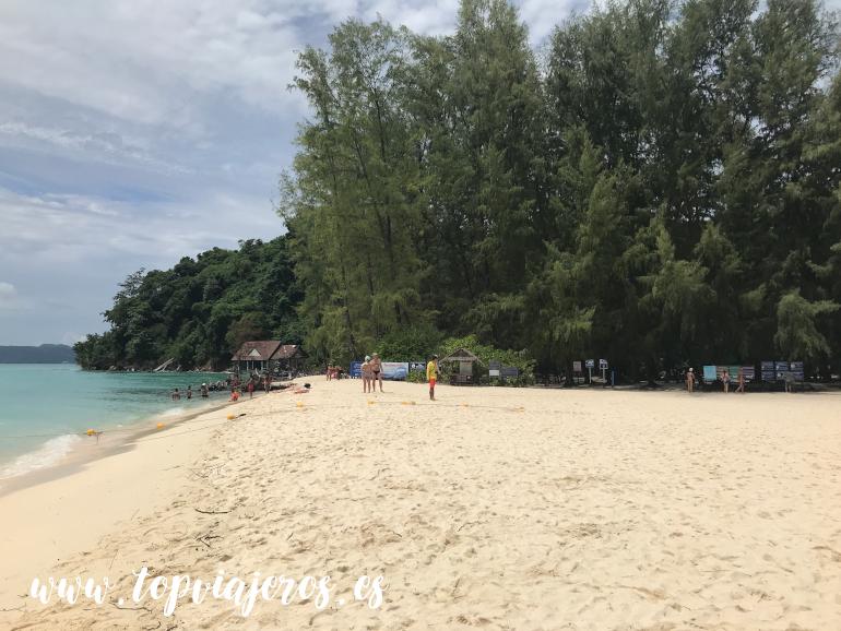 Bamboo Island (tour Phi Phi Islands)