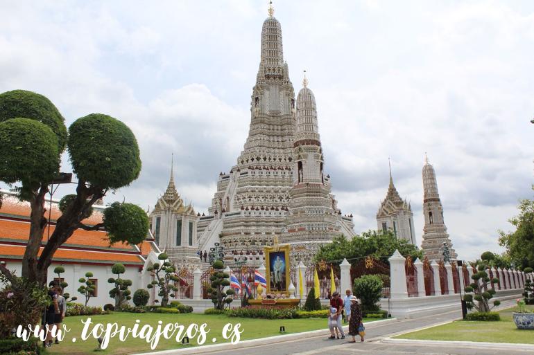 Templo Wat Arun Bangkok (Tailandia)