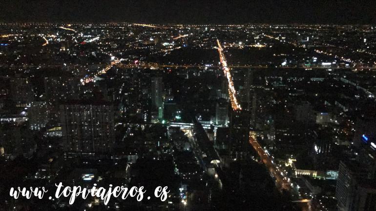 Vistas a Bangkok desde Bayone Sky Hotel